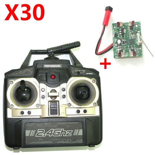 X30 transmitter + pcb board xinxun x30 quadcopter ufo spare parts