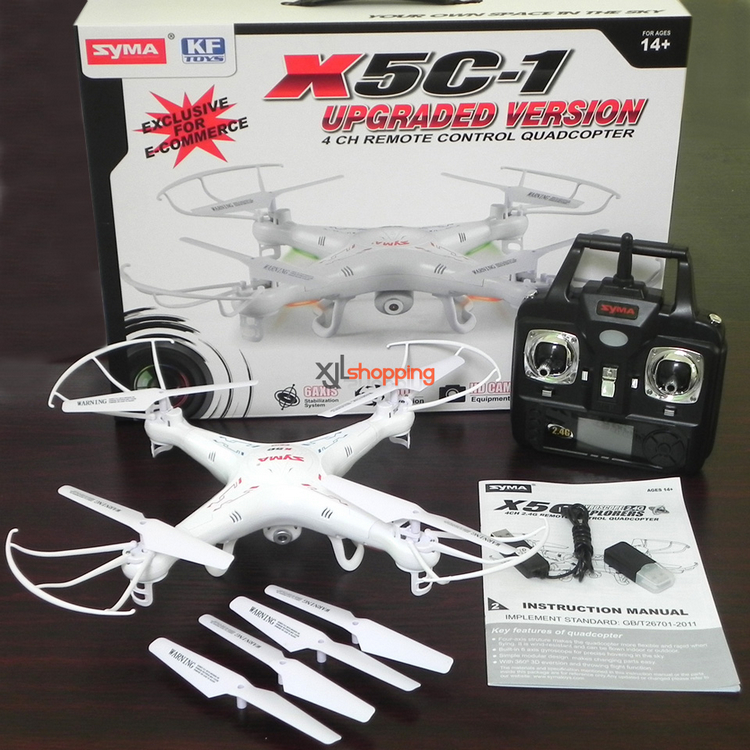 SYMA X5 X5A X5C Explorers 2.4G 4CH 6-Axis Remote Control Helicopter Quadcopter RC Drone Toys 2MP HD Camera