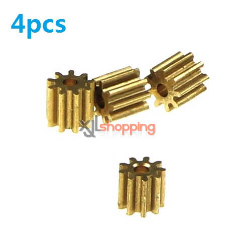 x5c small copper gear on the motor 4pcs