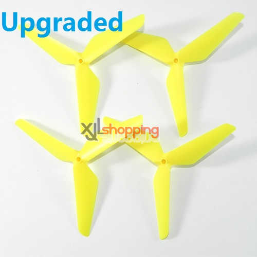 Upgraded 3-leef yellow X5C main blades