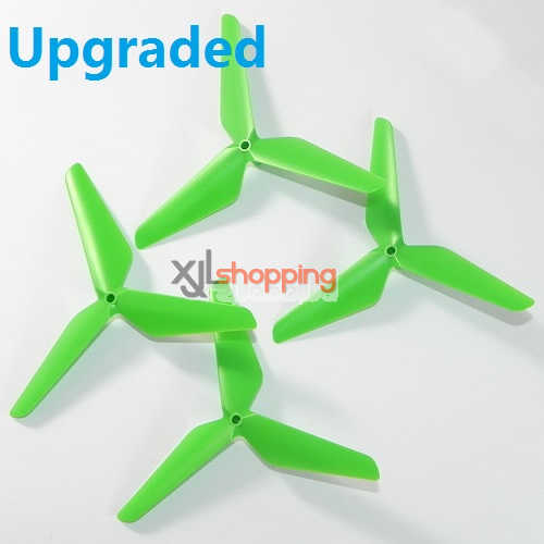 Upgraded 3-leef green X5C main blades