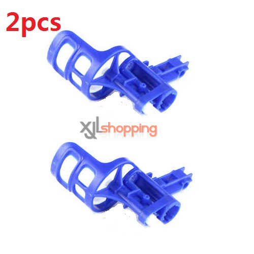 2pcs Blue motor deck and main gear set