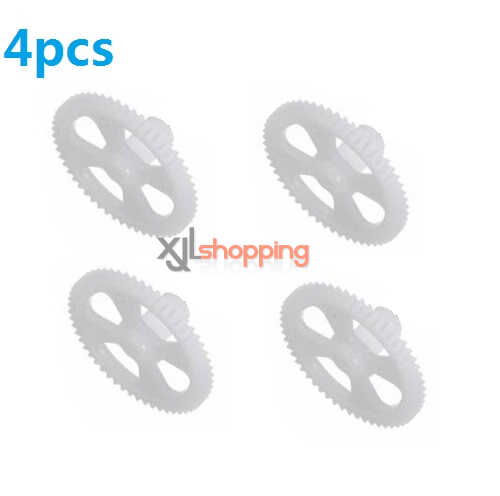 4pcs main gear