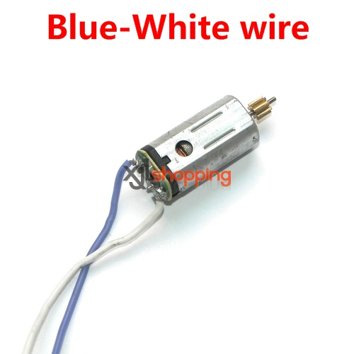 Blue-White wire YD-712 YD-712C main motor Attop toys YD-712 YD-712C AT-788 quadcopter avatar aircraft spare parts