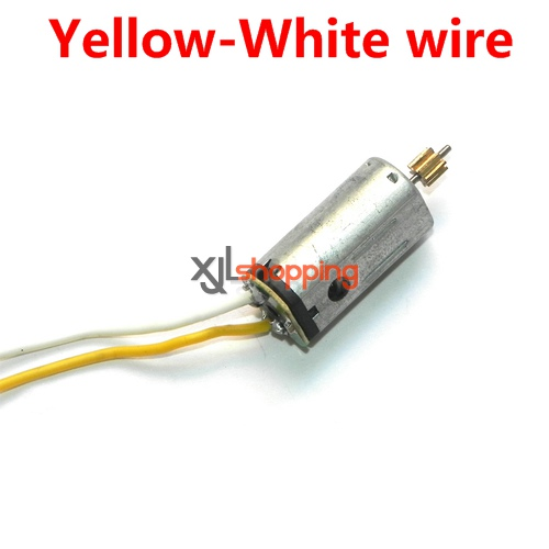 Yellow-White wire YD-712 YD-712C main motor Attop toys YD-712 YD-712C AT-788 quadcopter avatar aircraft spare parts