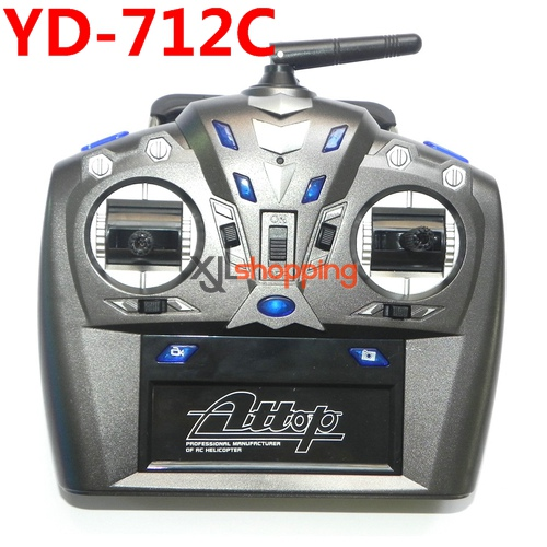 YD-712C transmitter Attop toys YD-712C AT-788 quadcopter avatar aircraft spare parts