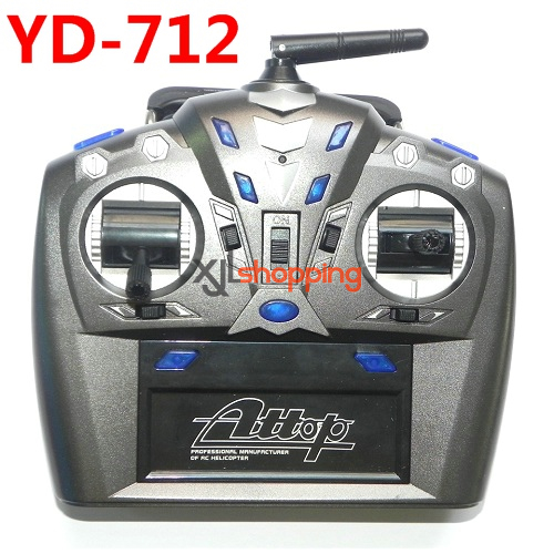 YD-712 transmitter Attop toys YD-712 quadcopter avatar aircraft spare parts