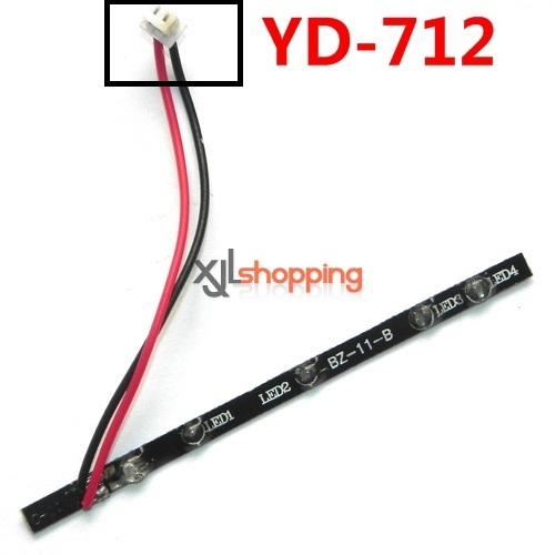 YD-712 LED bar Attop toys YD-712 quadcopter avatar aircraft spare parts