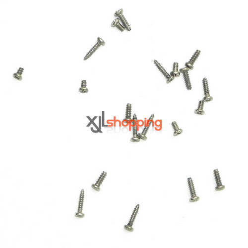 YD-719 YD-719C screws pack Attop toys YD-719 YD-719C UFO Quadcopter spare parts