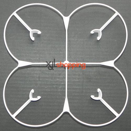 White YD-928 protection set Attop toys YD-928 quadcopter spare parts