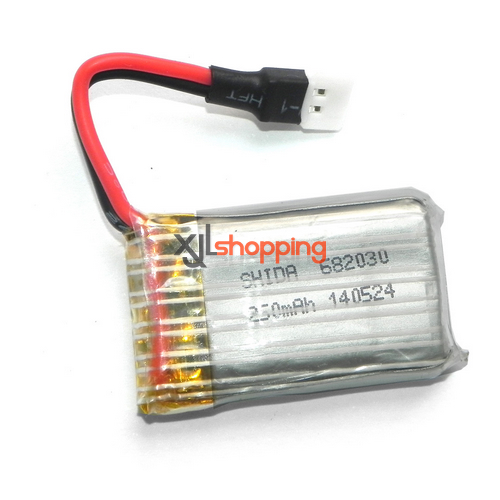 YD-928 battery 3.7V 250mAh 9128 plug Attop toys YD-928 quadcopter spare parts