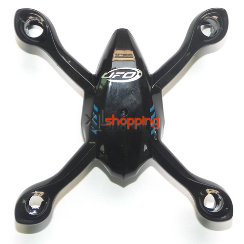 Black YD-928 upper cover Attop toys YD-928 quadcopter spare parts