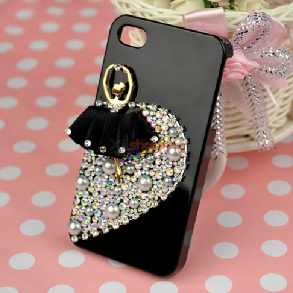 Mobile phone shell deco: Ballet princess ballet girl material package