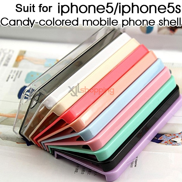 Candy-colored mobile phone shell [for iphone5/iphone5s]