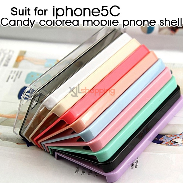 Candy-colored mobile phone shell [for iphone5C]