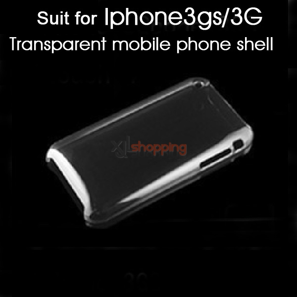 Transparent colore mobile phone shell [for iphone3gs/3G]