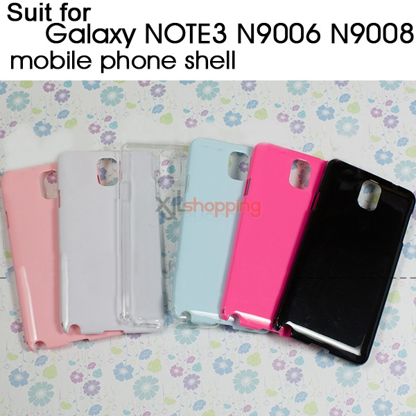 Candy-colored mobile phone shell [for Galaxy NOTE3 N9006 N9008]