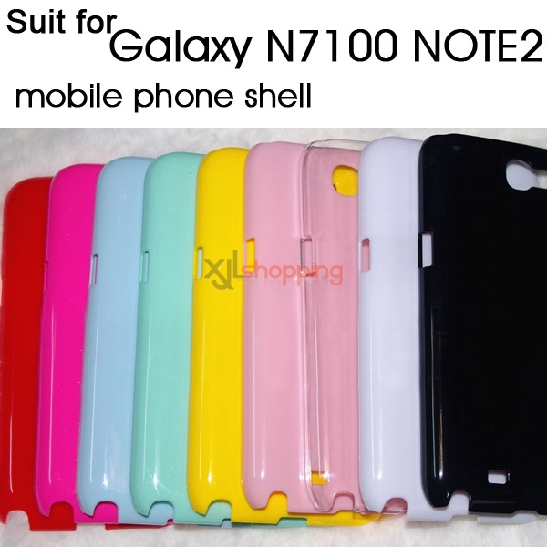 Candy-colored mobile phone shell [for Galaxy N7100 NOTE2]
