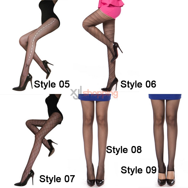 [5pcs]Sexy stockings, ladies ultrathin romantic princess jacquard pantyhose
