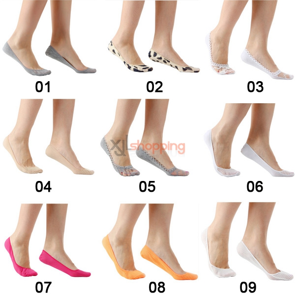 [5pcs]Ms. ultrathin invisibility socks, boat socks, women socks shallow mouth socks