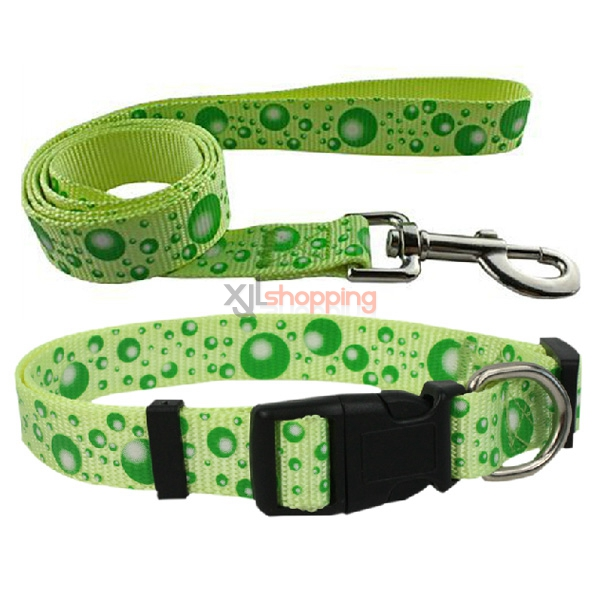 pet dogs and cats Bin Taidi sizes collars traction belt dogs, pet dog rope pull with supplies [collars + traction belt]