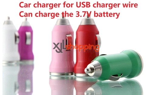 3.7V Car charger (Connect to the USB charger wire. can charge 3.7V battery)