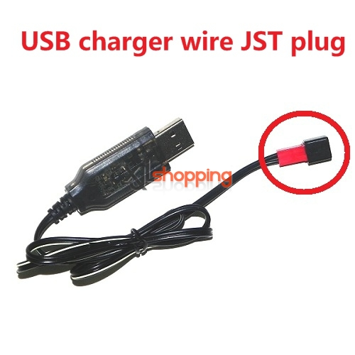 usb charger wire JST plug