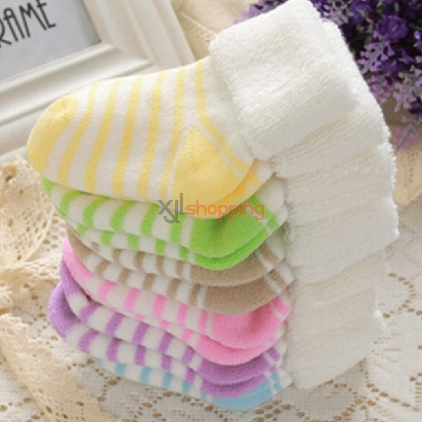 Autumn and winter baby warm socks