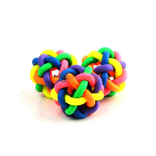 Colorful Ball Dog Toys(large, medium and small)【3pcs】