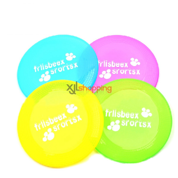 Pet Frisbee dog bite resistant dedicated training toys (random color)【3pcs】