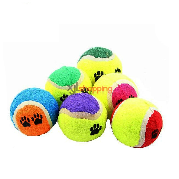 Tennis pet dog toys【3pcs】(random color)