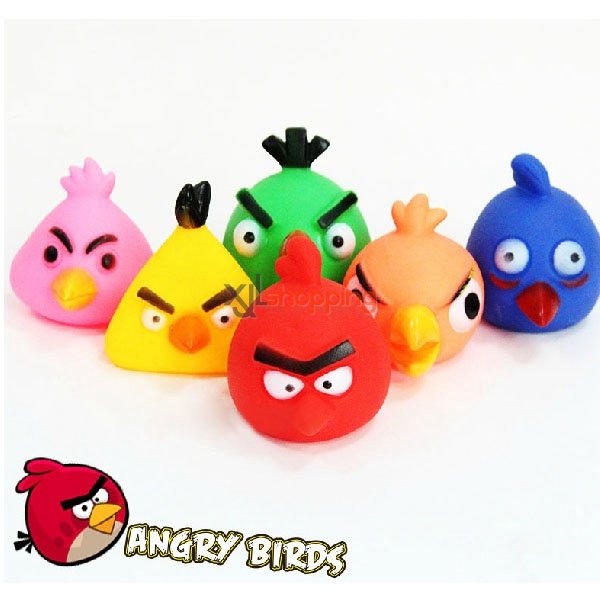7cm Environmental Vinyl utterance pet toys【3pcs】