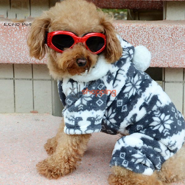 Fall and winter clothes pet sweat shirt legs