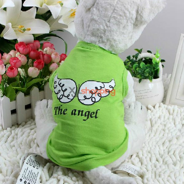 Dog cotton single jersey in summer clothes