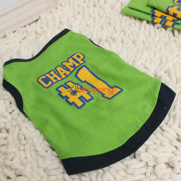 Dog cute sleeveless vest