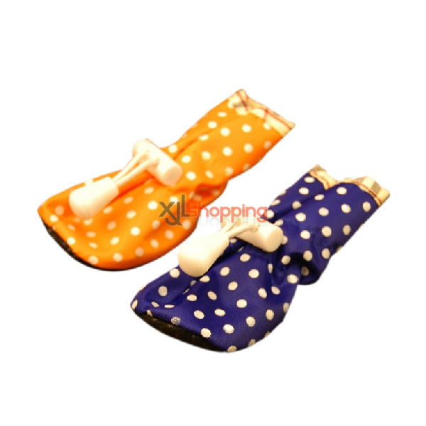 Pet oxford shoes dot rain