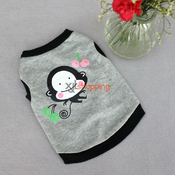 Little Monkey Teddy pull the wind sleeveless clothes