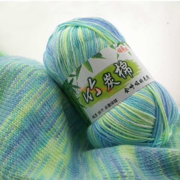Bamboo charcoal cotton yarn: hand-knitted baby yarn, cotton yarn [cotton-yarn-023]